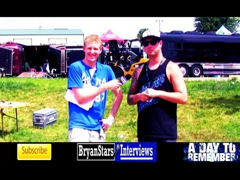 A Day To Remember Interview #2 Kevin Skaff Warped Tour 2011 Music Videos