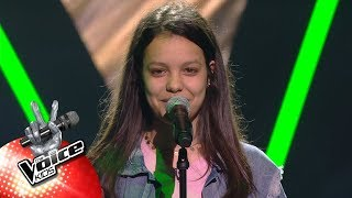 Soraya - 'Crazy In Love' | Blind Auditions | The Voice Kids | VTM