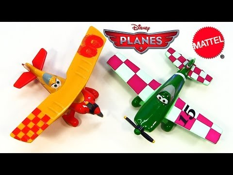 Disney Planes Sun Wing and Jan Kowalski New 2014 Mattel Die-Cast Release Cars klip izle
