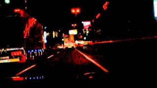 Prelude night highway drive/首都高5号線