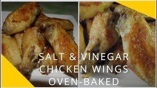 How to make Oven-baked Salt & Vinegar Crunchy Chicken Wings