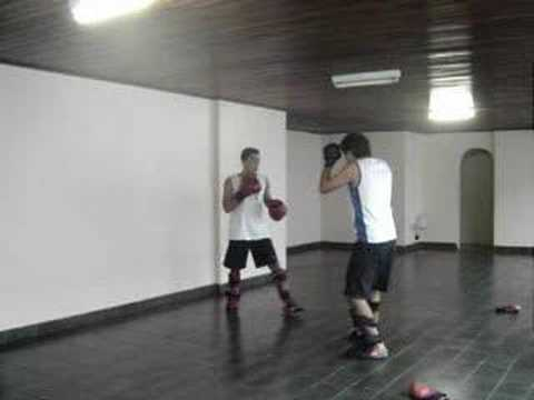 Wushu Tang Lang Ti Da Sanshou training Image 1