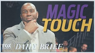 Magic Johnson, Carmelo Anthony, Tom Brady (7.20.18) | FOX SPORTS DAILY BRIEF