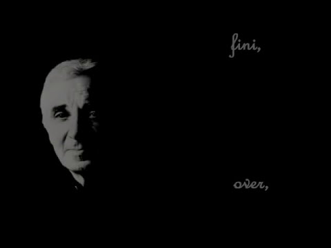 Charles Aznavour - C'EST FINI