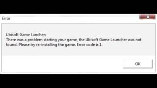 Ubisoft Game Launcher - решение