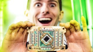 UNBOXING A QUANTUM COMPUTER! - Holy $H!T Ep 19