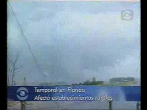Tornado en 25 de Mayo, Florida, Uruguay