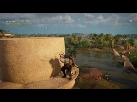 Assassin's Creed® Origins Glitch - Bayek Doesn't Want To Jump