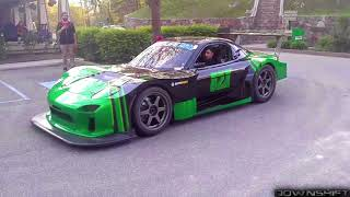26B 4-Rotor FD RX-7 Launch