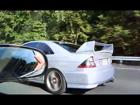 Miami Car Show >> Honda 98 k.20 modificado turvo vrs honda 2001 frab - YouTube
