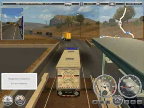 18 Wheels of Steel: American Long Haul Walkthrough part 2 with commentary