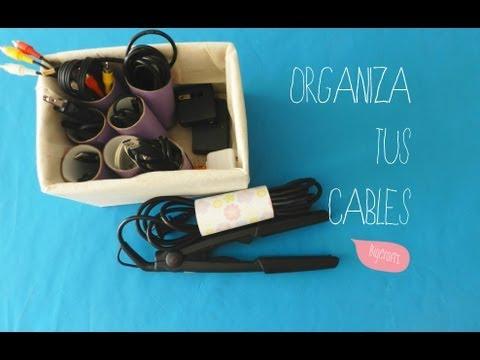 Organiza tus cables  [Organiza tu vida]