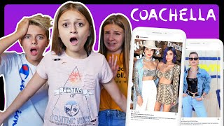 REACTING TO CELEBRITY COACHELLA OUTFITS **James Charles, Hayley Bieber**| Sophie Fergi