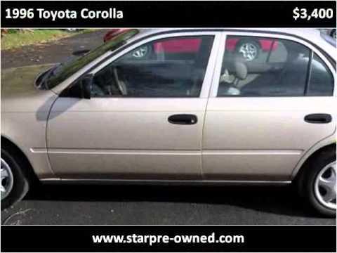 1996 Toyota Corolla Used Cars Sterling VA