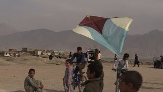 Kite flying, an Afghan passion