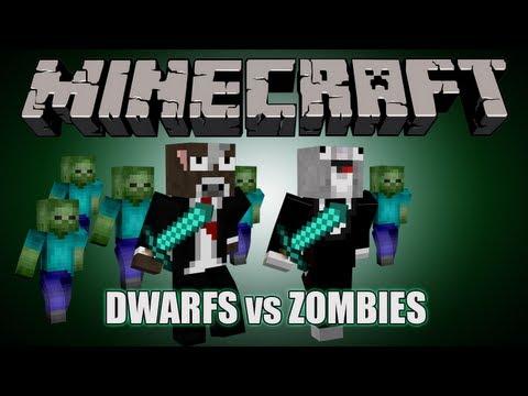 MInecraft: Dwarfs VS Zombies - CHICKENS!!