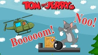 Tom and Jerry - Jerry Bombing Helicopter. Fun Tom and Jerry 2018 Games. Baby Games  #littlekids