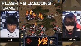 JAEDONG vs FLASH Bo5 GAME #1