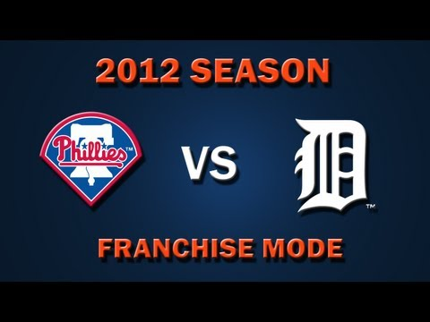 MLB 2K12: Detroit Tigers vs. Philladelphia Phillies - Franchise Mode