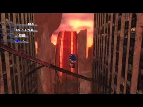 Sonic the Hedgehog 2006: Crisis City (Sonic) 1080 HD