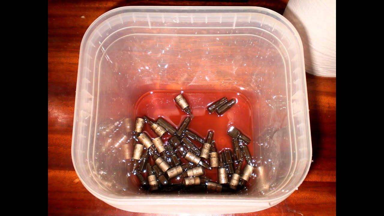 Quitar xido de piezas met licas con facilidad utilizando - Quitar oxido hierro ...