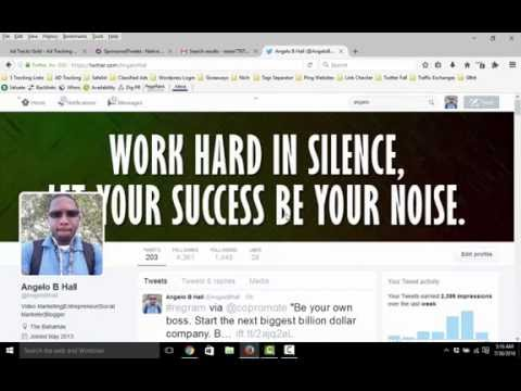 Review sponsored tweets 2016 make money fast