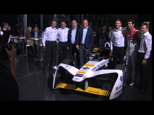 Highlights Audi Formula E team presentation