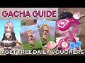 RAGNAROK GACHA QUICK GUIDE + HOW TO GET FREE VOUCHERS DAILY!