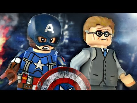LEGO Marvel : Captain America (Golden Age) & Alexander Pierce - Showcase