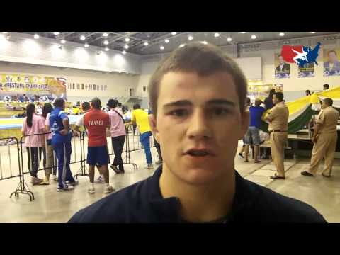 Junior World Bronze Medalist Jesse Thielke