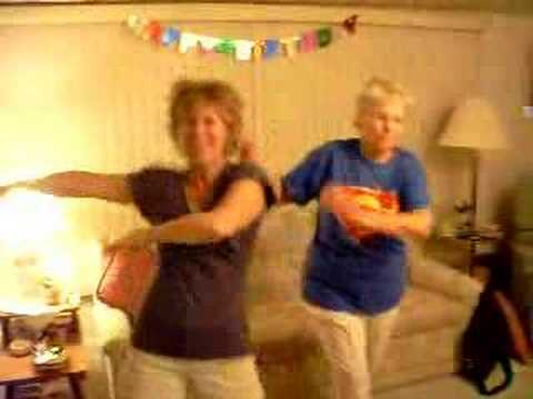 Grandma's Superman Dance
