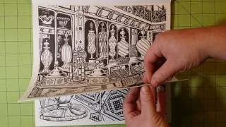 The Sweet Shoppe By Chris Price Coloring Book Review Flip Through