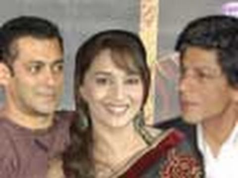 Salman, Madhuri, Shahrukh Khan in LOVE triangle! Music Videos
