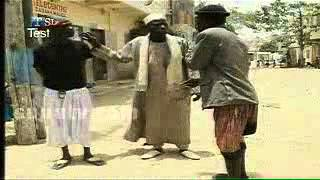 Marie Ndiago à la police
