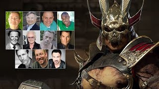 Comparing The Voices - Shao Kahn (Updated)