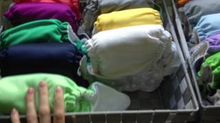 Updated Cloth Diaper Stash: May 2015 + Ways to Save on Cloth!