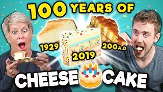 Generations React To 100 Years Of Cheesecake (National Cheesecake Day)