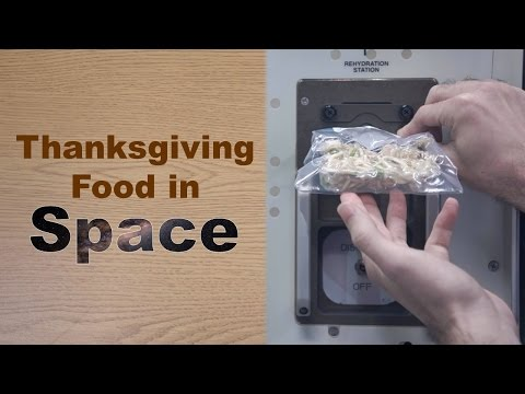 How to Prepare (Thanksgiving) Food in Space