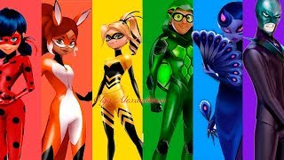 Miraculous Ladybug Season 2 All the new heroes and villains New official Arts