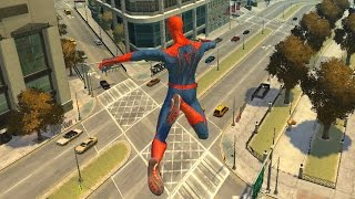 Grand Theft Auto IV -  Spiderman IV Script (MOD) HD