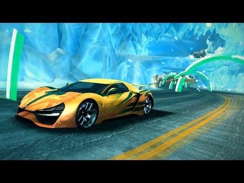 Asphalt 8 Gate Drift Ice Cave Trion Nemesis 100000 Points