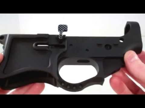 Seekins Precision SP223 lower receiver unboxing & review