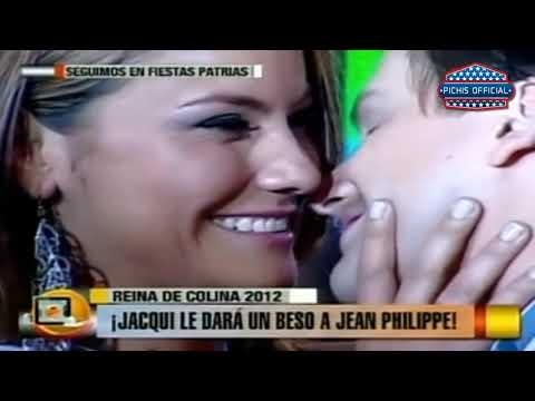 Calle 7 - Jacqueline Gaete cumple su promesa y besa a Jean Philippe
