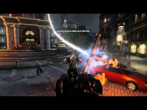 gameplay inFAMOUS 2