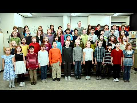 Koinonia Christian School Elementary Choir - 03/23/2012