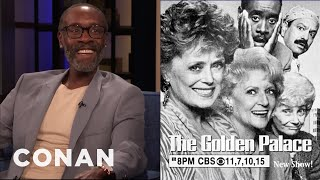 "Don Cheadle Was In ""The Golden Girls"" Spin-Off - CONAN on TBS"