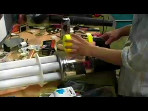 Gatling Gun Arm Costume : BFX : Build