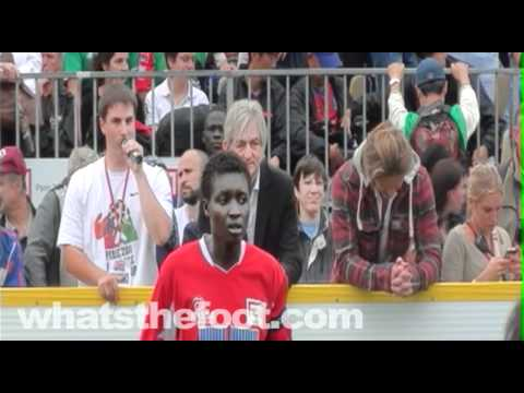 2011 Homeless World Cup Final's