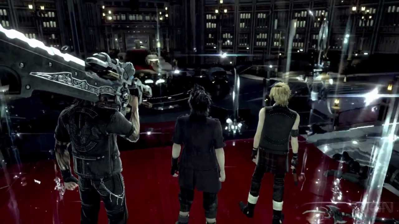 Final fantasy xv battle gameplay first look e3 2013 youtube