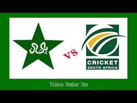 Pakistan vs South Africa Cricket Highlights 2015